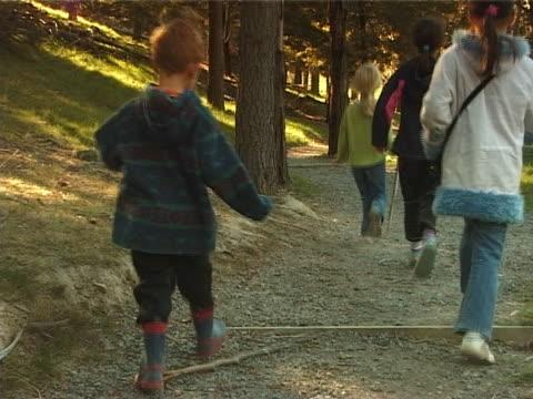 PAL –お子様を歩くの森 ビデオ