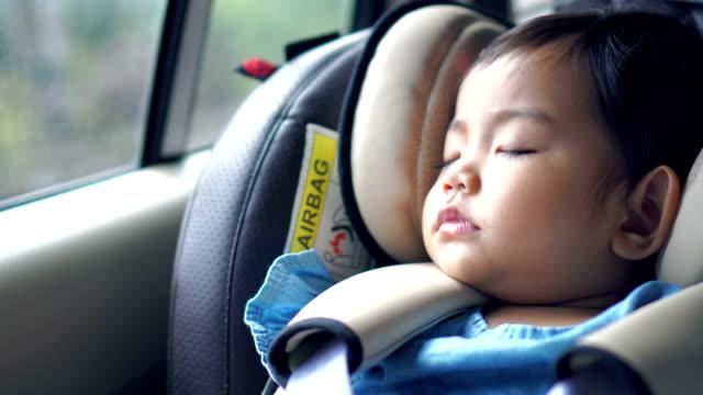 children's car seat - mebel do siedzenia filmów i materiałów b-roll