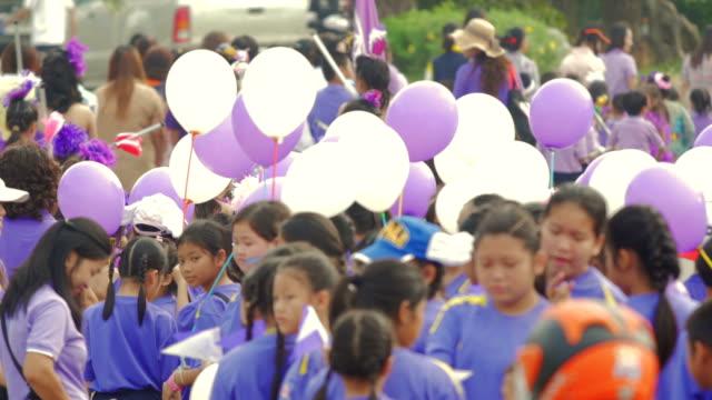 Children's carnival parade video
