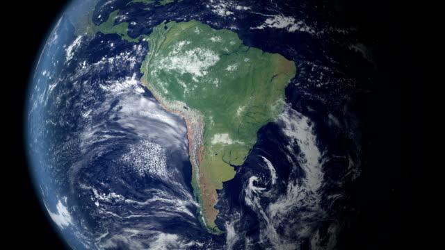cile verrà visualizzato dopo terra zoom (con alfa opaco) - argentina america del sud video stock e b–roll