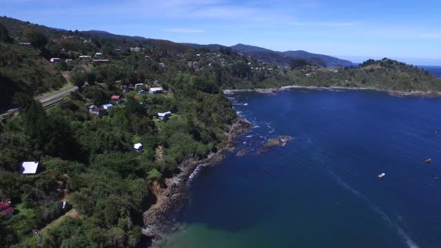 chilean patagonia coastline village video