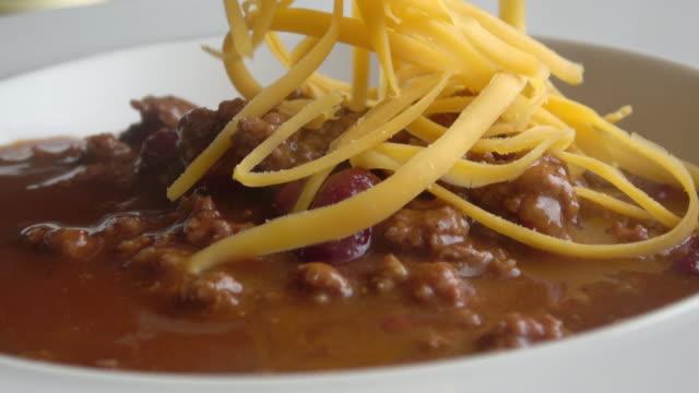 vídeos y material grabado en eventos de stock de chili bowl - cuenco