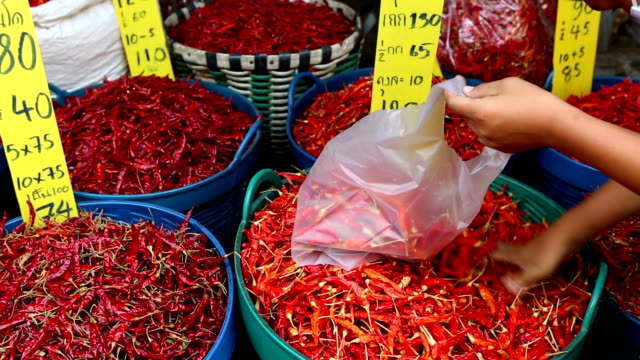 Chili Pepper Thai Cuisine Thailand video