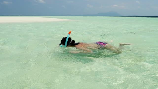 chillout sulla spiaggia - sky diving video stock e b–roll