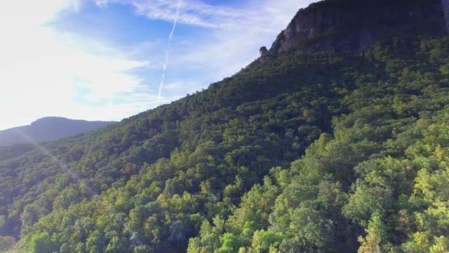 Chimney Rock In Blue Ridge Mountains video