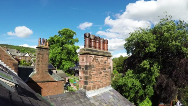 chimney stack - victorian architecture stock videos & royalty-free footage