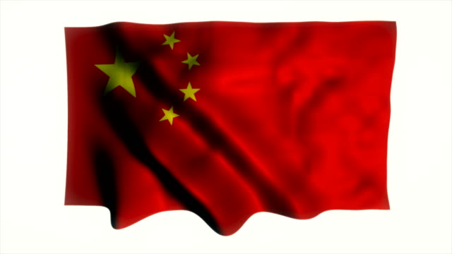 Bandera de China  - vídeo