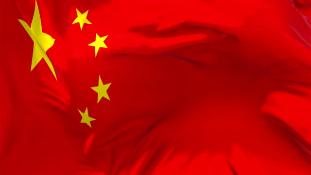 China Flag Waving in Wind Slow Motion Animation . 4K Realistic Fabric Texture Flag Smooth Blowing on a windy day Continuous Seamless Loop Background. Waving Flag in Wind Slow Motion Animation . 4K Realistic Fabric Texture Flag Smooth Blowing on a windy day Continuous Seamless Loop Background. president stock videos & royalty-free footage