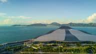 istock china sunny day shenzhen shekou cruise center bay aerial panorama 4k timelapse 1298376077