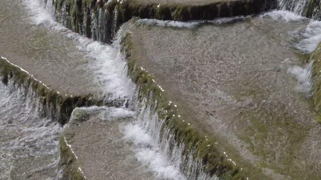 China yunnan province lijiang jade dragon mountain White Waterfall on Baishui River