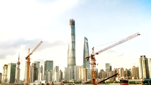 China/Shanghai.Timelapse. video