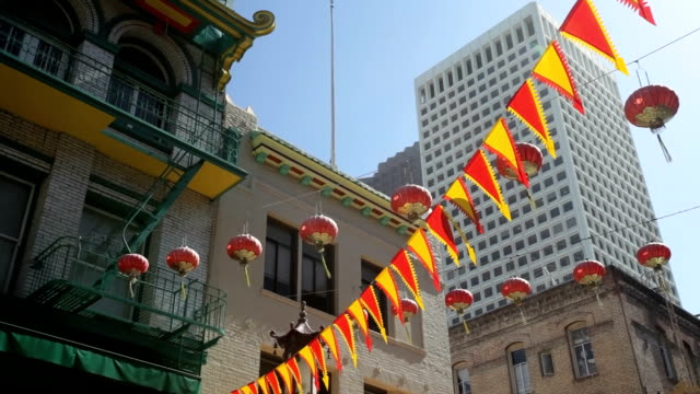 Chinatown lanterns video