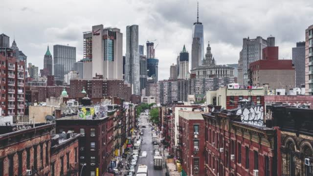 チャイナタウン |ニューヨーク市 - street graffiti点の映像素材/bロール