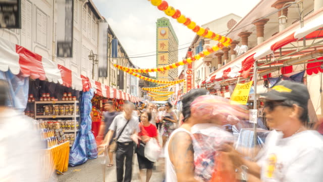 TL: Chinatown, Singapur - vídeo