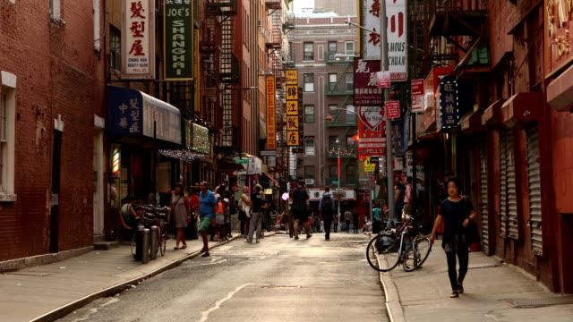 Chinatown Street Scene video