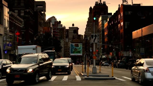 Chinatown Traffic Scene video