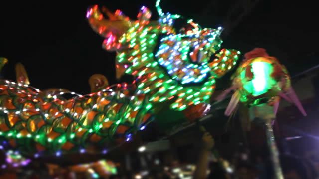 中華料理「ドラゴンダンスのパレード ビデオ
