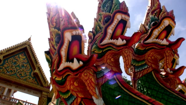 Chinese dragons video