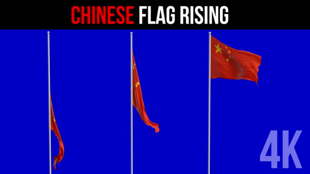 Bandera china - vídeo