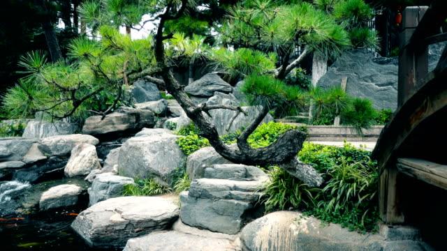Chinese garden,Xi'an,China.