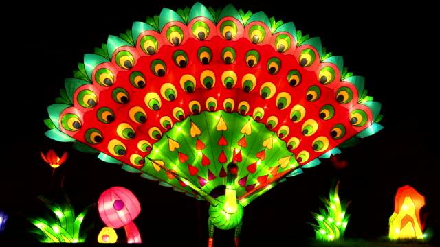 lampion z paw - chinese new year filmów i materiałów b-roll