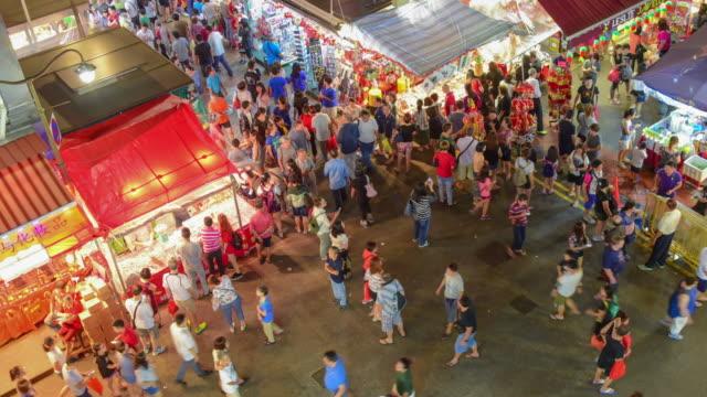 シンガポール中華街や旅行で中国の新しい年は、traviling (ED) をお楽しみください。 ビデオ