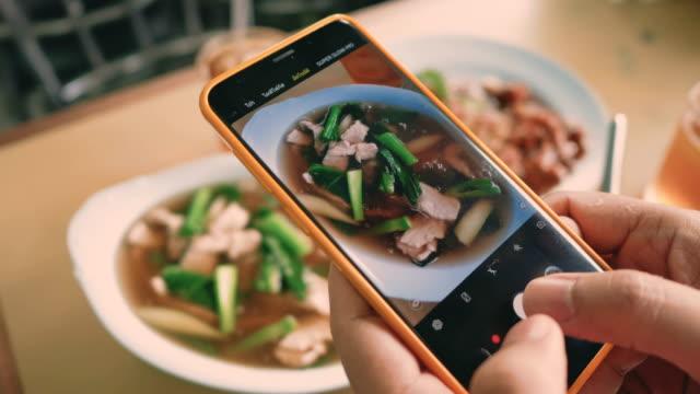 中國街頭美食 - 摄影 個影片檔及 b 捲影像