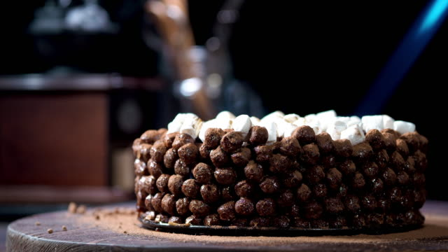 Chocolate cereal cake