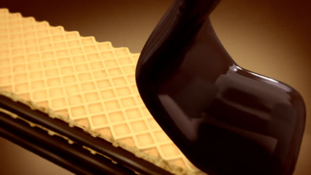 Chocolate covered Wafer video