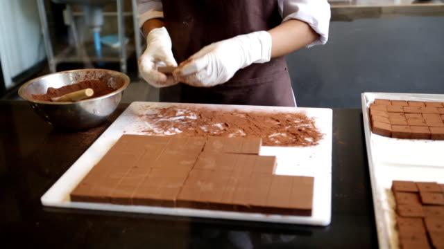 Chocolate Factory - Production - Handmade Chocolates video