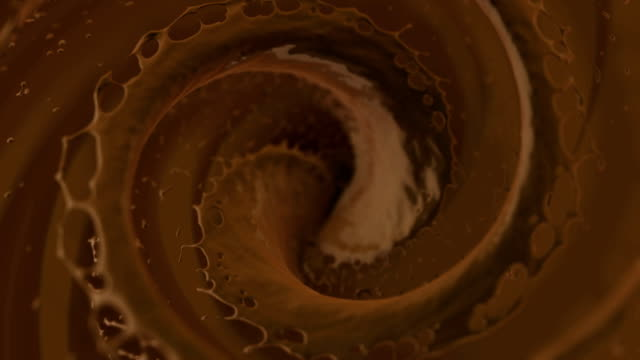 chocolate swirl - schokolade stock-videos und b-roll-filmmaterial