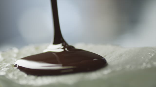 Chocolate Topping Covering Ice Cream video