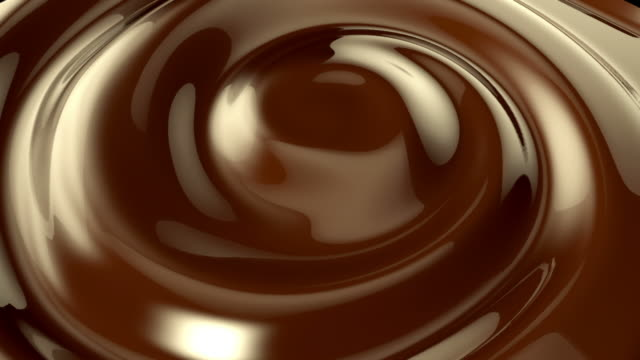Chocolate-whirlpool Hintergrund – Video