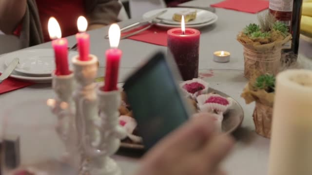 Chocolates on a Festive Table video