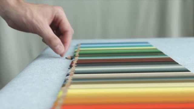 Choosing Colored Pencils