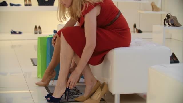 Choosing High Heels video
