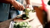 istock Chopped cucumber 639924134