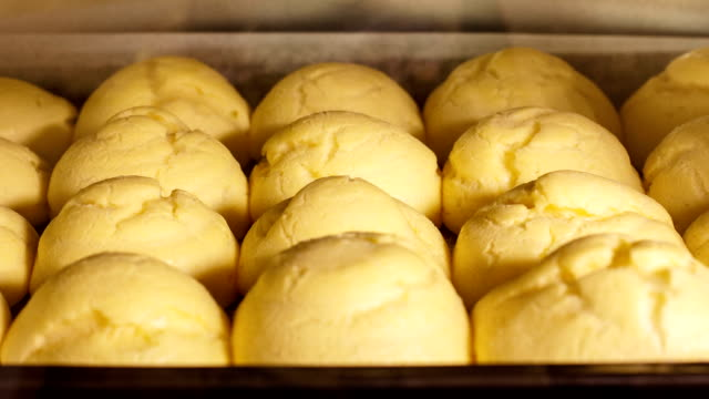 Choux Pastry Puffing in the Oven video