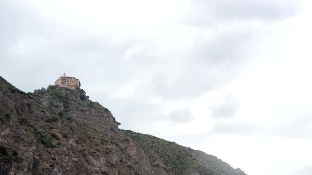Christian Church On A Cliff video