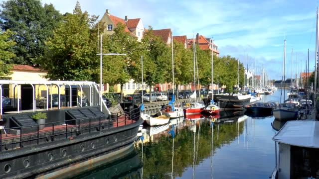 Christianshavns Canal - Copenhagen, Denmark video