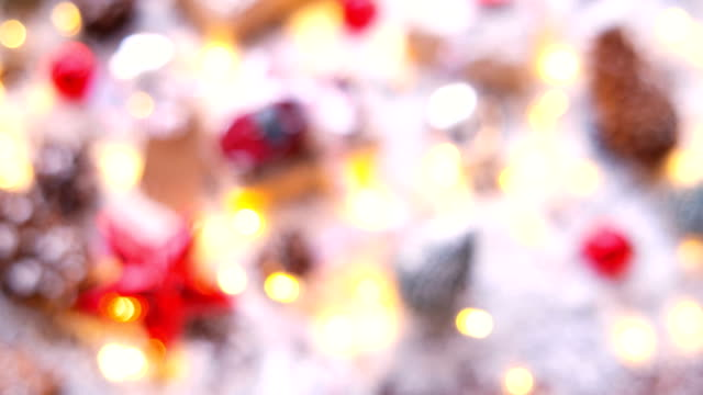 Christmas and New year background with presents video