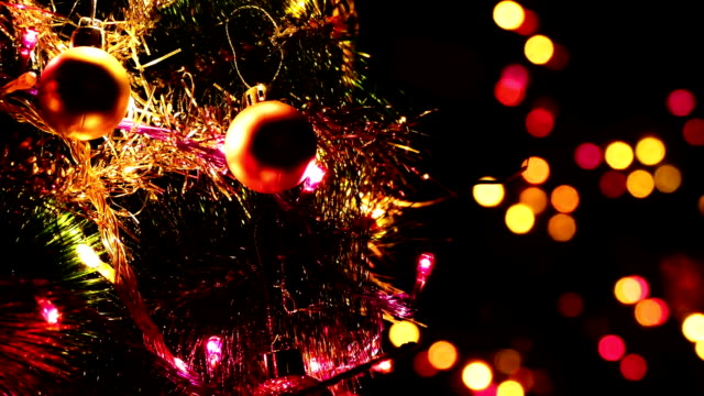 Christmas And New Years Decoration video
