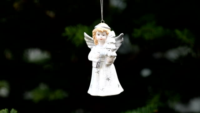 Christmas angel video