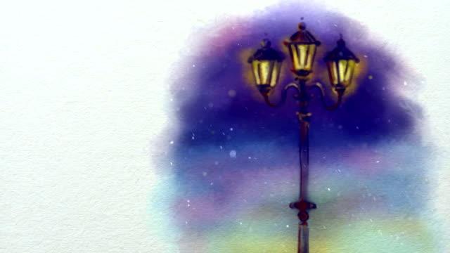 Christmas Animated Handmade Background video