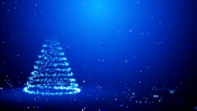 Weihnachten Hintergrund mit Frohe Weihnachten – Video