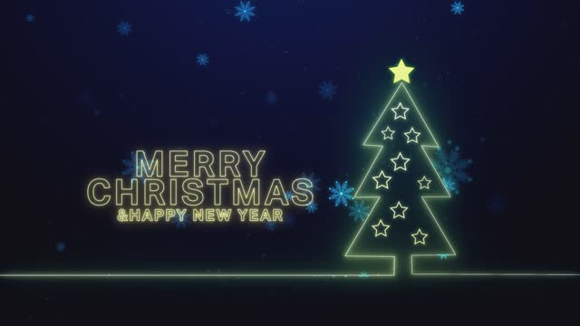 Christmas background stock video