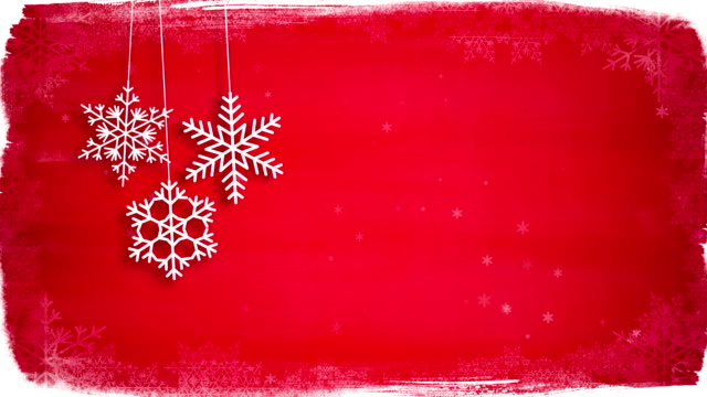 christmas background - snowflake background stock videos & royalty-free footage