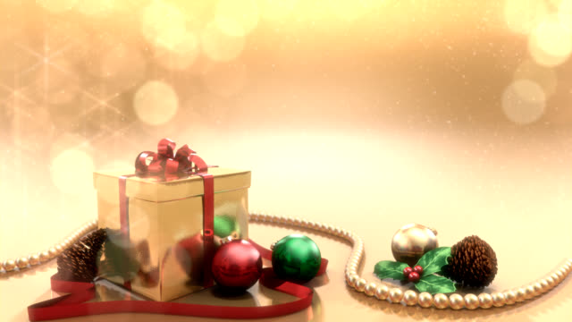 Christmas Background video