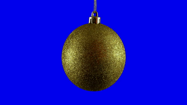 Christmas Ball Isolated Loop - video