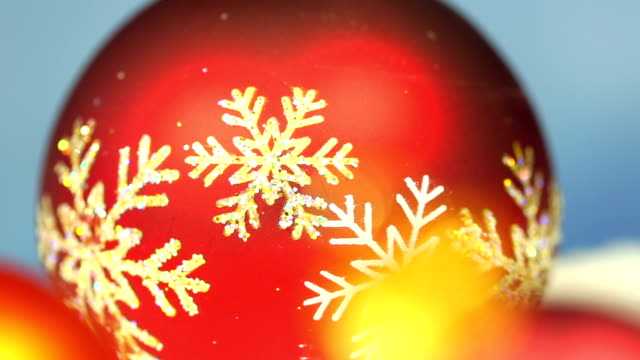Christmas Baubles, zoom video